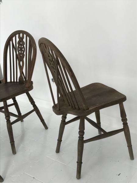 4 sillas a os 60 inglaterra olmo 38x44x90 cms - Sillas anos 60 ...